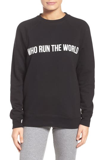 BRUNETTE the Label Who Run the World Sweatshirt