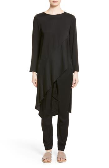 Zero + Maria Cornejo Heli Asymmetrical Tunic