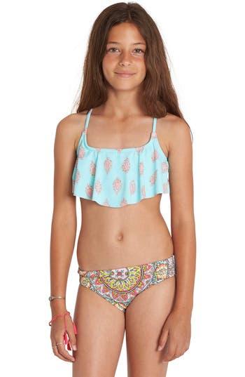 Billabong Samsara Two Piece Swimsuit Little Girls Amp Big