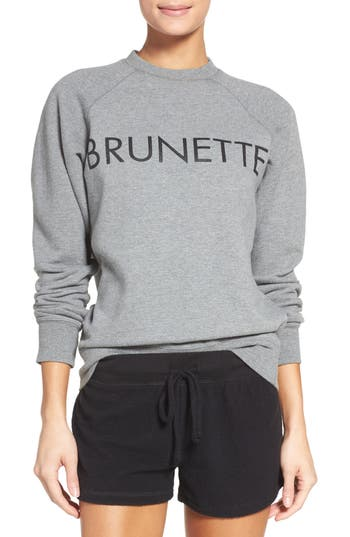 BRUNETTE the Label Brunette Crewneck Sweatshirt