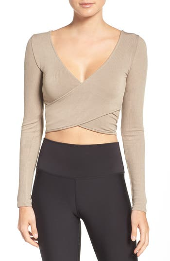 Alo Ameilia Two-Way Crop Top