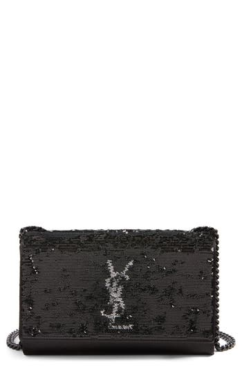 Saint Laurent Small Kate Magic Paillettes Shoulder Bag
