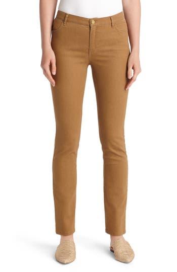 Lafayette 148 New York Thompson Jeans (Copper)