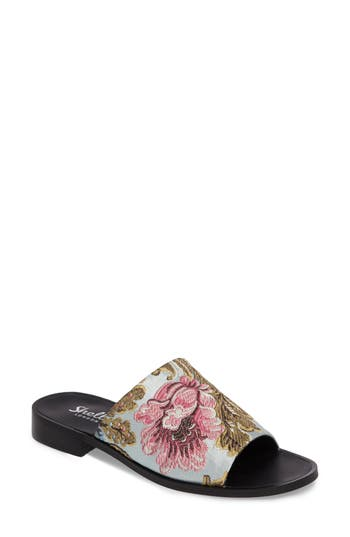 Shellys London Enya Brocade Slide Sandal (Women)