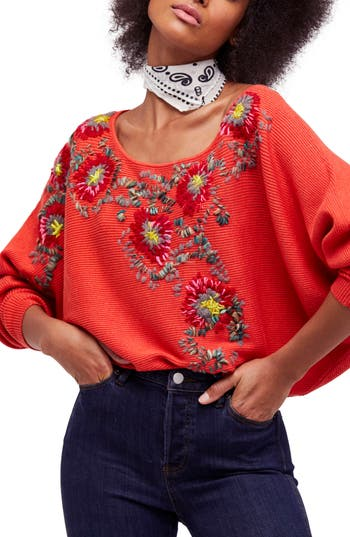 Free People Bouquet Sweater