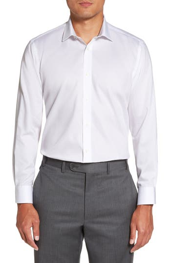Caramor Trim Fit Solid Dress Shirt by Ted Baker London