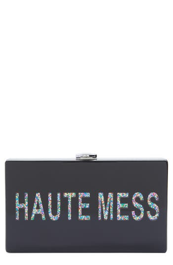 Nordstrom Haute Mess Box Clutch