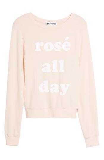 Dream Scene Rosé All Day Sweatshirt
