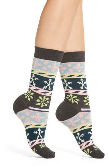 Happy Socks Snowflake Crew Socks (3 for $24)