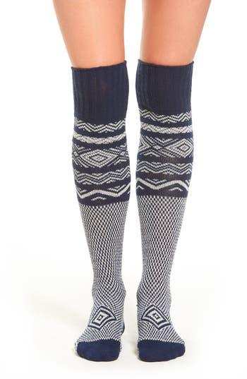 Peony & Moss Scandinavian Knee High Socks