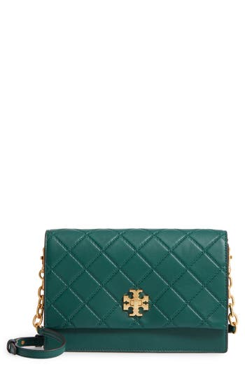 Tory Burch Georgia Quilted Lea..