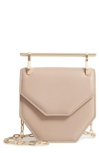 M2Malletier Mini Amor Fati Single Calfskin Leather Shoulder Bag