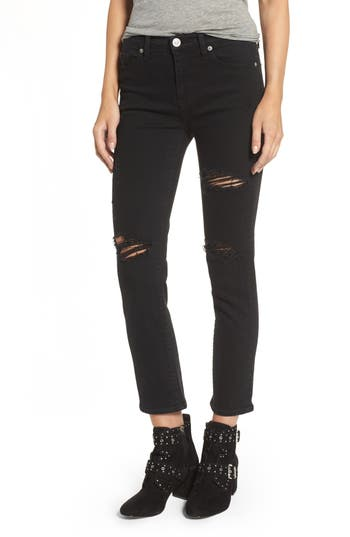 Hudson Jeans Zoeey High Waist Crop Jeans (Ambiance)