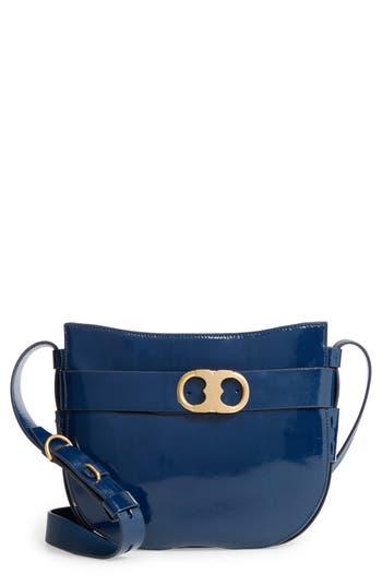 Tory Burch Gemini Link Patent Leather Crossbody Bag