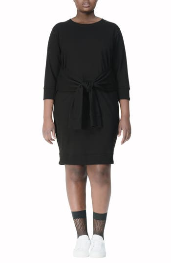 UNIVERSAL STANDARD Misa Tie Front Dress (Plus Size)