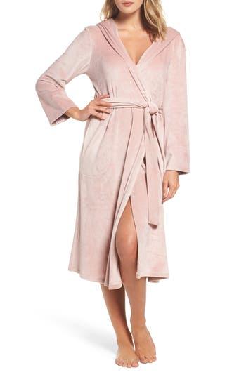 DKNY Luxury Plush Hooded Robe