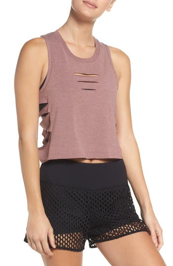 Alo Cut It Out Crop Tank