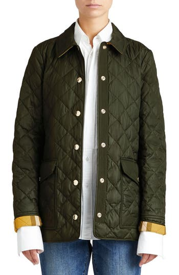 Burberry Westbridge Quilted Jacket Nordstrom