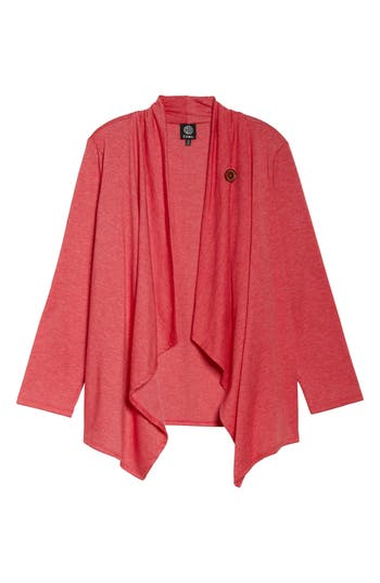 Bobeau One-Button Fleece C..