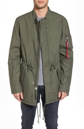 Recruit Fishtail Jacket by Alpha Industries