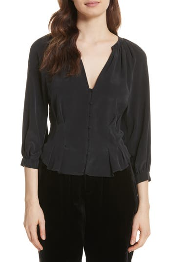 Joie Bitina Silk Top