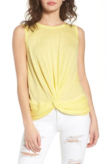 Twist Hem Tank by Bp.
