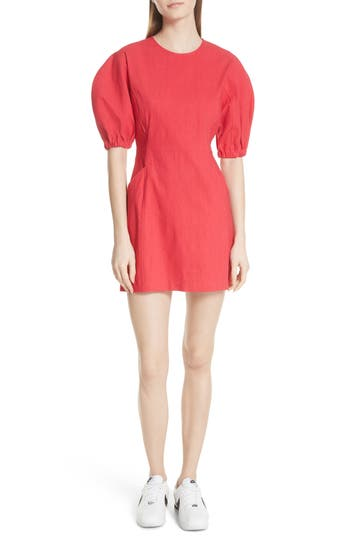 Valenti Puff Sleeve Dress by A.L.C.