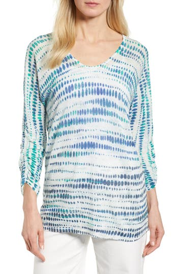 high-point-print-top by nic+zoe