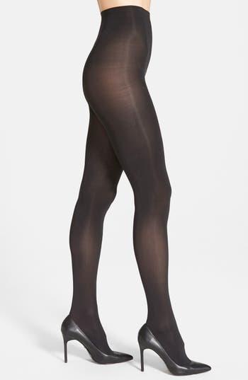 Donna Karan 'Evolution' Satin Jersey Tights