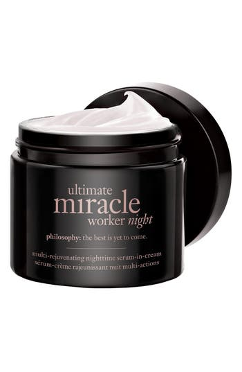 'ultimate miracle worker night' multi-rejuvenating nighttime serum-in-cream,                             Alternate thumbnail 2, color,                             No Color