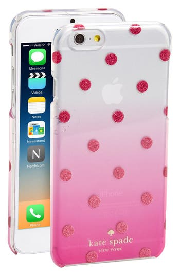 kate spade iphone case kate spade new york glitter dot ombr 233 iphone 6 amp 6s 2158