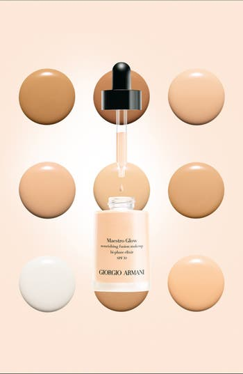 Alternate Image 2  - Giorgio Armani 'Maestro Glow' Nourishing Fusion Foundation Bi-Phase Elixir Broad Spectrum SPF 30