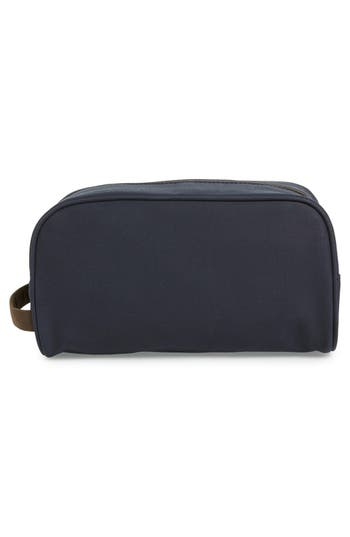 Waxed Canvas Travel Kit,                             Alternate thumbnail 2, color,                             Navy