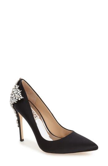 'Gorgeous' Crystal Embellished Pointy Toe Pump BADGLEY MISCHKA