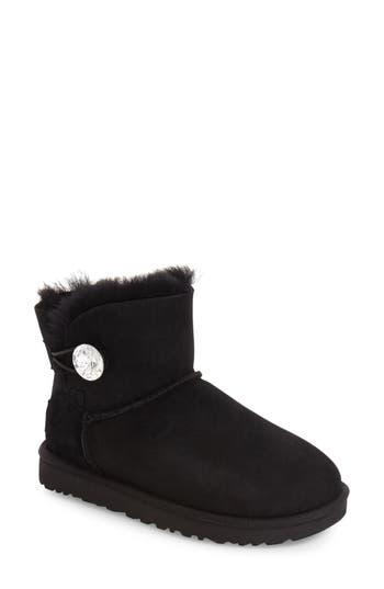 UGG? Mini Bailey Button Bling Boot (Women)