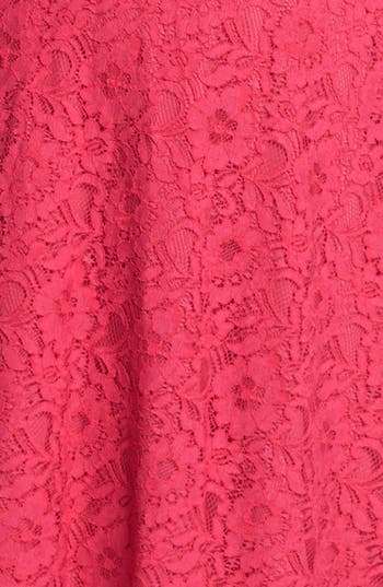 Alternate Image 3  - Donna Ricco Lace Fit & Flare Dress (Plus Size)