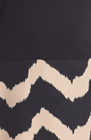 Alternate Image 3  - dee elle Print Fit & Flare Dress (Juniors) (Online Only)