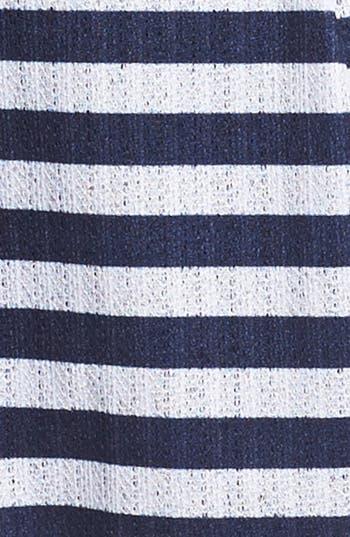Alternate Image 3  - Mimi Chica Pointelle Fit & Flare Dress (Juniors)