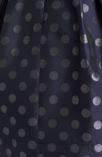 Alternate Image 3  - Eliza J Metallic Polka Dot Fit & Flare Dress