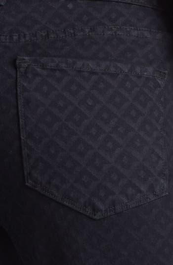 Alternate Image 3  - NYDJ 'Sheri' Print Stretch Skinny Jeans (Regular & Petite)