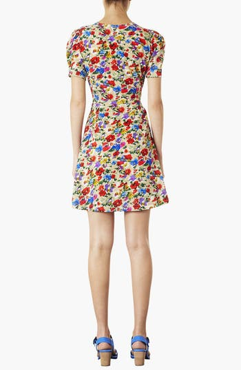 Alternate Image 2  - Topshop Poppy Print Day Dress