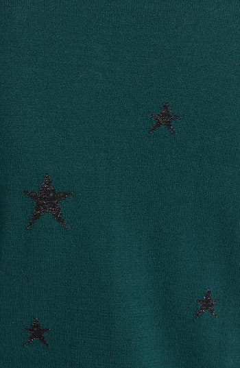 Alternate Image 3  - Maison Scotch Star Pattern Knit Cardigan