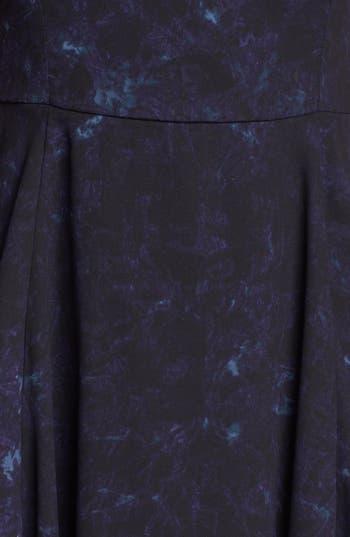 Alternate Image 4  - BB Dakota 'Della' Print Fit & Flare Dress