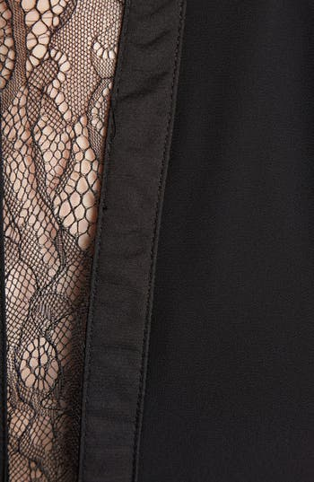 Alternate Image 3  - ASTR Lace Inset Maxi Dress