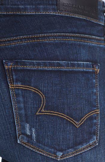 Alternate Image 3  - Big Star 'Kate' Distressed Straight Leg Jeans (Three Year Malibu) (Petite)