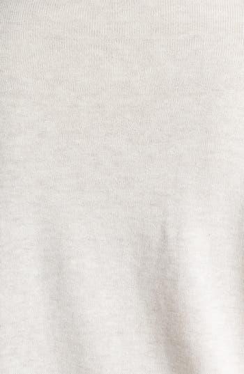 Alternate Image 3  - Halogen® Intarsia Crewneck Sweater (Plus Size)