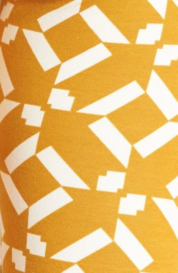 Alternate Image 3  - Threads for Thought Geometric Print Leggings (Juniors)