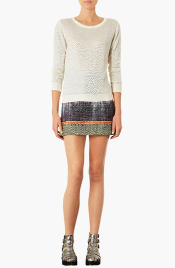 Alternate Image 4  - Topshop Embellished Knit Sweater