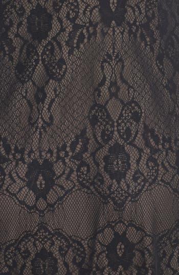 Alternate Image 3  - Hailey by Adrianna Papell Chiffon Overlay Lace Sheath Dress