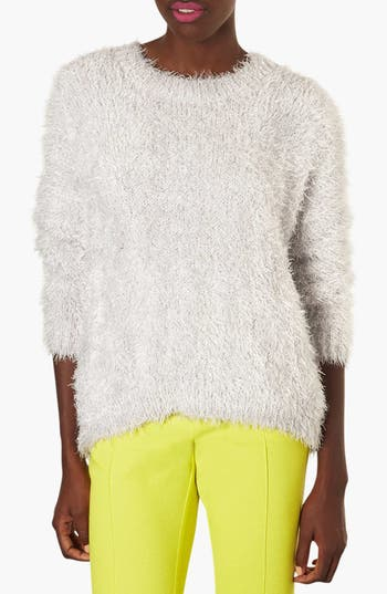 Alternate Image 1 Selected - Topshop 'Cloud' Fluffy Sweater